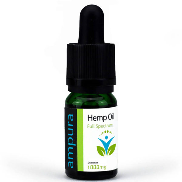 Lemon Flavoured CBD Oil – Full Spectrum 1000mg 10ml 10%