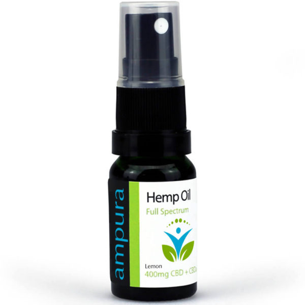 Lemon Flavour 4 percent hemp oil 10 ml spray