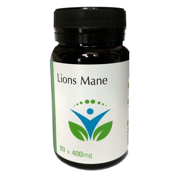 Lion's Mane – Hericium Erinaceus Extract 350Mg – 60 Capsules